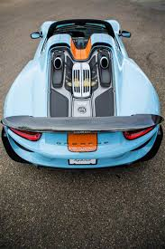porsche 918 racing porsche 918 spyder with gulf oil racing livery up for sale