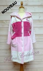 robe de chambre pour fille robe de chambre fille avec capuche