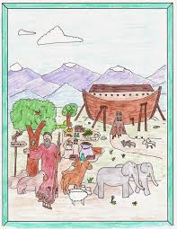 noah u0027s ark coloring pages drawn2bcreative