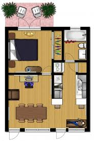 floor plan design small apartment design for live work 3d floor plan and tour