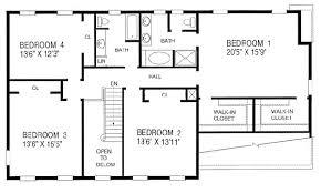 4 bedroom floor plan 4 bedroom house blueprint photos and video wylielauderhouse com