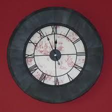 dà co oà acheter une grande horloge geante de gare murale noire