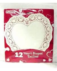 heart shaped doilies savings on heart shaped doilies 12 pieces