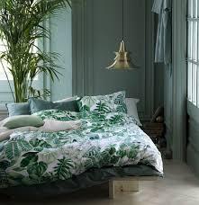 Amazon Bedding Amazon Com Botanical Tropical Plants Bedding Duvet Cover Set