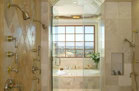 shower beautiful bath with shower natural stone shower designs