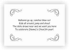 birthday party invite messages kids birthday invites u2013 chococraft