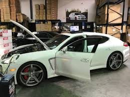 widebody porsche panamera porsche panamera turbo ecu flash and catback exhaust