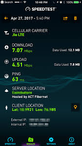 Speed Test Jio Airtel And A Fishy Speed Test Hacker Noon