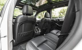 porsche cayenne hybrid reviews 2015 porsche cayenne s e hybrid interior rear seats 7544 cars