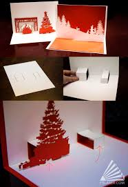 185 best christmas pop up cards images on pinterest kirigami
