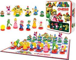 amazon super mario chess collector u0027s edition tin game toys