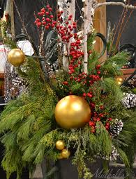 Christmas Decorations For Outdoor Pots by 113 Best Winter Decor For Outdoor Pots Images On Pinterest