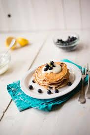 Blueberry Pancake Recipe Lemon Blueberry High Protein Pancakes U2022 A Sweet Pea Chef