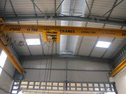 we are manufacturers and suppliers of single girder eot crane in