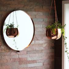 Home Decor Nz Online Copper Round Wall Mirror Me And My Trend