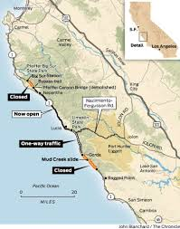 Big Sur Map Monster Slide Will Keep Big Sur Isolated For At Least An