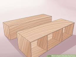 How To Build A Twin Size Platform Bed Frame by 3 Ways To Build A Wooden Bed Frame Wikihow