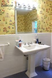 Diy Powder Room Remodel - one room challenge week 1 bathroom remodel driven by decor