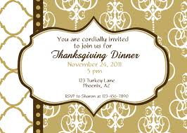 luxury thanksgiving dinner invitations happy thanksgiving