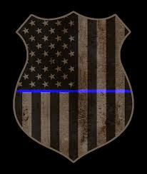 Thin Blue Line Flag Thin Blue Line American Flag Police Badge