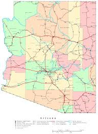 az city map arizona map printable arizona map arizona az