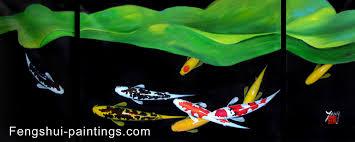 fung shui colors koi painting koi fish painting feng shui fish painting