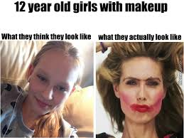 12 Year Old Model Meme - 12 year old girls with makeup by recyclebin meme center