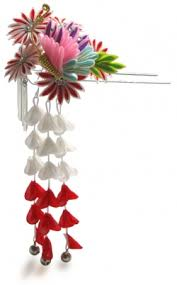 57 best kanzashi japanese hair ornaments images on