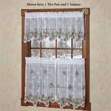 Rustic Curtains And Valances Christmas Holiday Window Treatments Curtains Valances Touch Of Class
