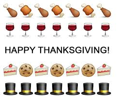 happy thanksgiving emoji posts comments for instagram