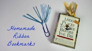 ribbon bookmarks how to make ribbon bookmarks