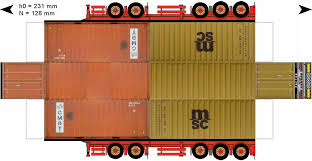 paper truck kenworth trailervlot4 gif 1492 773 paper trucks pinterest