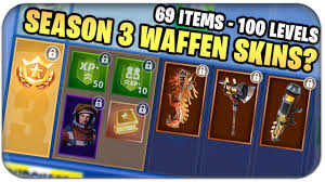 76 neue items 100 levels neue skins season 3 battle pass