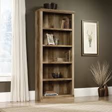 cabinet oak wood sauder bookcase and east canyon with 5 shelf