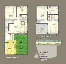 bhk row house plan design sweeden bhk row house plan