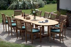 modern outdoor dining room with 10 person wicker rattan patio