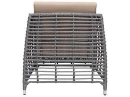 Zuo Outdoor Furniture by Zuo Outdoor Trek Beach Aluminum Wicker Arm Chair In Gray U0026 Beige