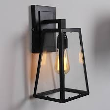 retro outdoor wall lights  home design  mannahattaus with retro outdoor modern filament clear glass sconce restoration wall lamp light from mannahattaus