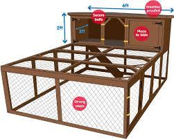 Build Your Own Rabbit Hutch Plans Try This Simple Diy 4 Stalls Rabbit Hutch Via Pet Stuff