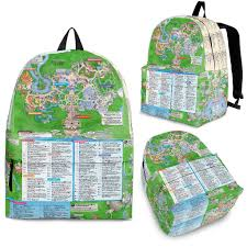 Disney World Park Maps by Disney World 4 Park Map High Quality Limited Edition Custom