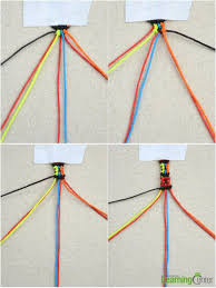 make bracelet from string images Instructions on how to make friendship bracelets with wheels jpg