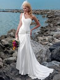 one shoulder wedding dress trendy sheath satin one shoulder wedding dress wm 0410 482 50