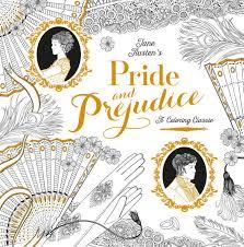pride prejudice coloring classic jane austen chellie