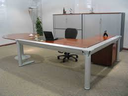 Big Office Desk Modern Home Office Design Ideas With Big Office Desk With Black