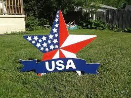 4th of july u s a patriotic mikesyarddisplays