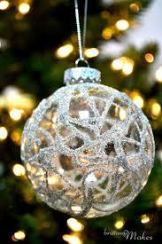 top 10 diy christmas ornaments christmas pinterest glitter