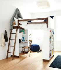 Free Full Size Loft Bed With Desk Plans by Desk Full Size Wood Loft Bed With Desk Underneath Labor Day Full