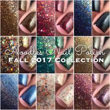 noodles nail polish fall 2017 collection snacks on rotation