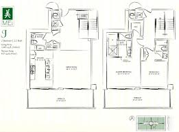 St Regis Residences Floor Plan Mei Miami Beach Condo 5875 Collins Florida 33140 Apartments