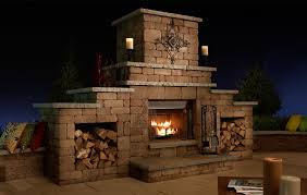 Outdoor Fireplace Canada - grand fireplace necessories kits for outdoor living